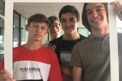 Vasile Condrei, Afonso Freira, Ivo Nico e João Eloy