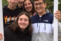 António Pais, Ema Gonçalves, Guilherme Coelho, Lucas Brás e Joana Matias