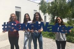 Carlota Martins, Joana Silva, Leonor Santos e Tatiana Matias