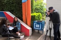 Filmagem - Poupar água nos bebedouros da escola