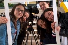 Beatriz Pereira, Diana Lopes, Francisco Quintão, Maria Ferreira e Rafaela Barbosa