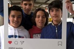 João Rocha, Bernardo Tavares, Rodrigo Bandeira, e Miguel Azevedo