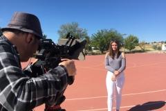 Filmagem - Poupar água nos balneários da escola