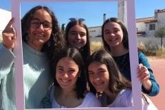 Andreia Arrifes, Beatriz Carriço, Constança Silva, Daphne Maat e Lara Bibes