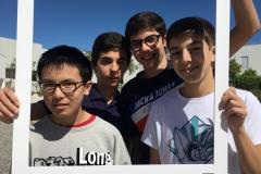 Diogo Roque, Gonçalo Espada, Gonçalo Rilhas e Kai Zhuo