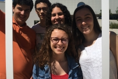 Gonçalo Grazina, Madalena Falé, Maria Ramalho, Miguel Medes e Rita Bibes